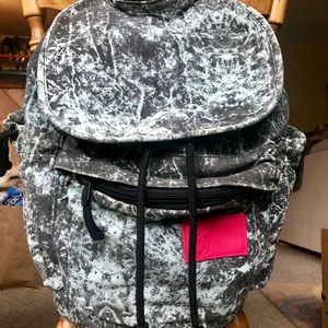 Canvas backpack book bag